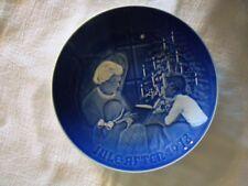 """1978 Bing and Grondahl Christmas Eve Plate 7 1/4"""""""