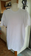 "Nuevo Unisex Blanco T Shirt talla M por Fruit of the Loom Con Logotipo ""Bar 38"""