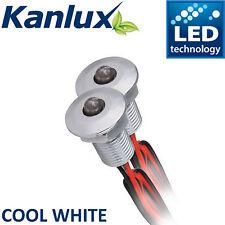 Kanlux 12V DC LED Feature Point Lights Mini Decking Spot Plinth Light Cool White