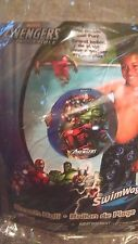 "Marvel Avengers 14""  Beach Ball 3 yrs. + (Play or Pool) by Swim Ways New 2013"