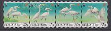 SINGAPORE 1993 Endangered Species Swinhoe Egret  complete MINT SET sg737-740 MNH