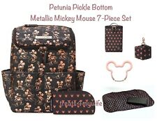 NWT Petunia Pickle Bottom METALLIC MICKEY MOUSE Method Backpack~Cool Pack & more