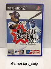 ALL STAR BASEBALL 2003 PS2 PLAYSTATION 2 - VIDEOGIOCO USATO IN OTTIME CONDIZIONI