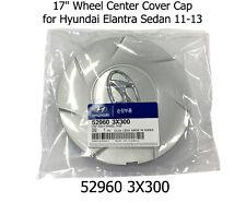 """New Genuine OEM 17"""" Wheel Center Cover Cap 52960 3X300 for Hyundai Elantra 11-13"""