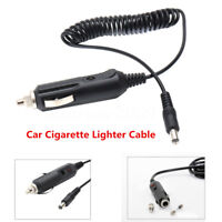 Portable 2.1mm 12V/24V Car Cigarette Lighter Extension Cable Socket Cord Charger