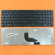 DE - Schwarz Tastatur Keyboard version 3 kompatibel für Acer Aspire 7741, 7741G