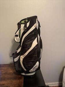 Callaway Golf Org 14 Golf Cart Bag, 14 Way - Used - No Rain Cover - Green, Black