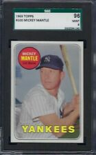 1969 TOPPS NO. 500 MICKEY MANTLE SGC 9 MNT PRISTINE