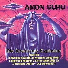 Die Krautrock Explosion Amon Guru CD (Jurgen Engler Die Krupps) amon duul Faust