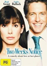 Two Weeks Notice (DVD, 2013)*R4*Hugh grant*terrific Condition*