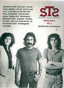 STS / SONG BOOK NR.2 / EDITION KARL SCHEIBMAIER / 1985