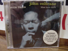 JOHN COLTRANE BLUE TRAIN CLASSIC RECORDS DVD AUDIO 24/96 DAD RARE 1st Edition CD