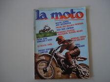 LA MOTO 8/1977 BULTACO FRONTERA 250/KAWASAKI Z1000 Z 1000/LAVERDA 500