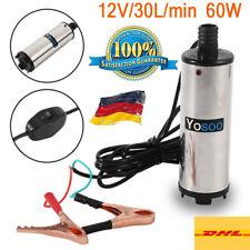 12V Elektrische Ölpumpe Kraftstoffpumpe ÖL Absaugpumpe Dieselpumpe 30L/min KFZ
