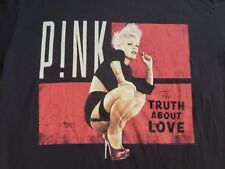 PINK The Truth About Love Tour Concert 2013 Shirt Men's Small CD LP Vinyl