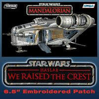 "Kenner HasLab STAR WARS The Mandalorian ""We Raised the Crest"" Razor Crest patch"
