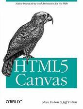 HTML5 Canvas, Fulton, Steve, Fulton, Jeff, Good Book