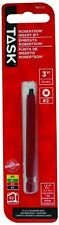 Task Tools T67712 3-Inch Robertson Screwdriver Power Insert Bit,  Number-2 Red