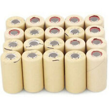40pcs SC 2200mAh 1.2V High Drain Ni-Cd 10C Rechargeable  Sub C Battery Flat Top