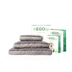 bECOsy® 100% Natural Shredded Latex Orthopaedic Dog Cat Bed-Durable & washable