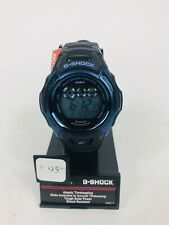 G-Shock Casio Men's Solar Atomic Digital Black & Blue Watch GWM500F-2