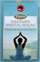 3 boîtes encens Ppure nagchampa Spiritual Healing 15g
