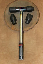 Metal Shaping Mallet Set with Delrin heads (Metal Handle)