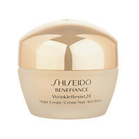 1 PC Shiseido Benefiance WrinkleResist24 Night Cream 1.7oz,50ml Moisturizer Firm
