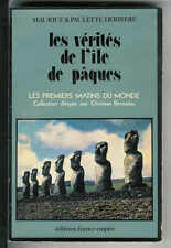 """Maurice et Paulette Deribère : Les vérités de l'ïle de Pâques """" France-Empire """""""