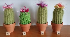 Hand Knitted Cactus