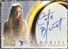 Lord Of The Rings TTT Autograph Card Cate Blanchett As Galadriel