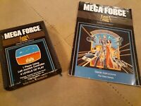 MEGA FORCE by 20th CENTURY FOX for Atari 2600 ▪︎ CARTRIDGE and MANUAL ▪︎