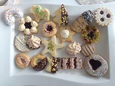 Plätzchen,Gebäckmischung, selbst gebackene Kekse , 1000g