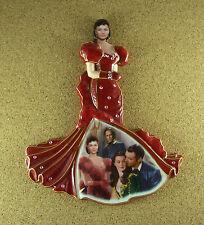 Gone With The Wind Southern Splendor RADIANT IN RED Plate #2 Scarlett Rhett
