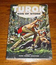 Turok Son of Stone Archives Volume 7 SEALED Dark Horse hardcover Gold Key Comics