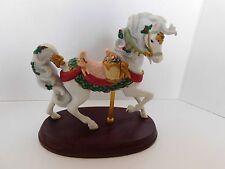 Lenox CHRISTMAS CAROUSEL ANIMALS FIGURINE 1994 Christmas Carousel Horse