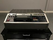 VINTAGE PANASONIC NV-9240 U-VISION VIDEO CASSETTE RECORDER--TAKE A LOOK--U-MATIC