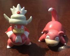 Pokémon CGTSJ TOMY Vintage PVC Figure Lot Slowpoke #79 & Slowking #81