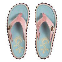Gumbies Islander Women's Gecko Pink/Blue Comfort Flip Flops NEW SEASON