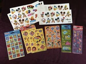 Lot of Stickers Disney Mickey Mouse Blues Clues Dora Clifford My Little Pony MLP