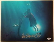 GUILLERMO DEL TORO + VANESSA TAYLOR Shape of Water 11x14 Photo 3 Beckett BAS COA