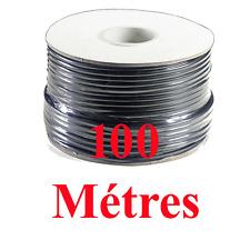Câble Haut Parleur sous Gaine Noire Section 2x 2.5 mm² Long 100 Métres