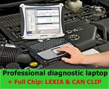 Professional Diagnostic Laptop and FULL CHIP Interface LEXIA and CAN CLIP