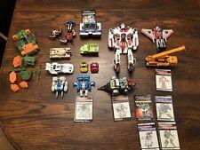 Transformers G1 Lot - Soundwave  Jetfire Slag Dinobot Cliff Jumper