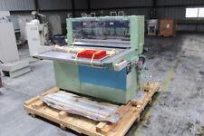 Ogino Seiki Roll Feed Guillotine Sheeter 1200mm Servo Feed PS1-1200 NEW