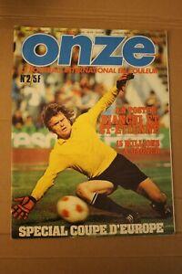 /! Attention Collector /! FOOTBALL ONZE n° 2 Février 1976 la grande époque!