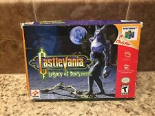 Castlevania: Legacy of Darkness N64 Nintendo Complete/Authentic Near Mint Cart