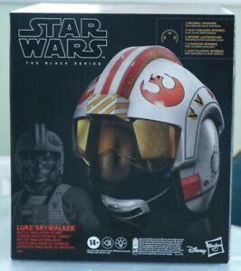 Star Wars Black Series Luke Skywalker X-Wing Rebel Pilot Replica Battle Helmet