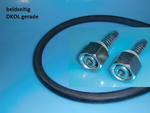 Hydraulikschlauch 2SN DN8 10L M 16 x 1,5 Innen/Außengewinde 200mm bis 10000mm