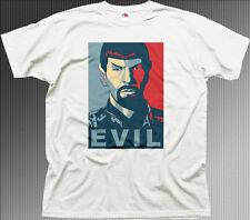 Evil Spock Start Trek Obama obedecer cumplan Printed T-shirt 9944